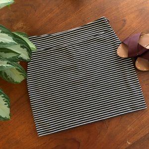 Gap Striped Mini Skirt